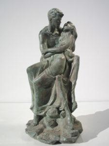 Bronze-statue-sculpture-Lovers-year2001