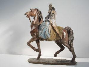 Bronze-statue-sculpture-statuette-Aida-year2002-Museum-La-Scala-Milano
