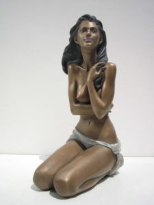Bronze-statues-of-women-sculptures-artistic-nudes-Awaiting-sunset-year2002-sl