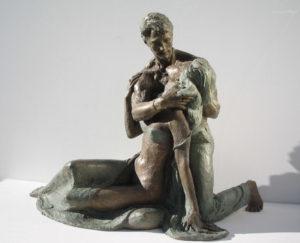 Bronze-statues-sculptures-Lovers-year2005