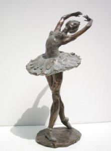Ballerina statue bronze ballet dancer sculpture Ballerina