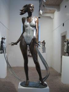 Ballerina statue bronze ballet dancer sculpture ballerina Rhythmical