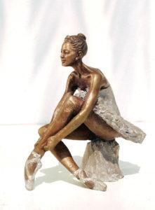 Ballerina statue bronze ballet dancer sculpture