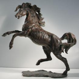 Bronze sculptures horses statues vittorio tessaro