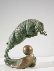 Bronze-sculptures-Sign-Of-The-Zodiac-Star-Sign-code-70-1-Aries-cm20x18x10-year-1997