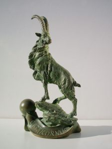 Bronze-sculptures-Sign-Of-The-Zodiac-Star-Sign-code-70-10-Capricorn-cm31x14x11-year-1997