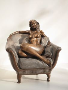 Bronze-statue-of-woman-figurines-artistic-nudes-Nude-on-divan_01