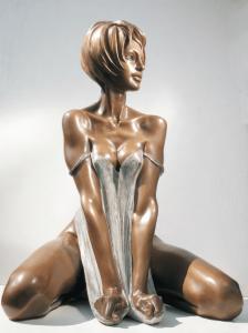 Bronze-statues-of-women-sculptures-artistic-female-nudes-Cris-cm65x44x45-year-2000