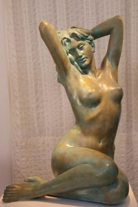 Bronze-statues-of-women-sculptures-artistic-female-nudes-code-21-Mirjam-cm85x54x51-year-1984-89