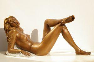 Bronze-statues-of-women-sculptures-artistic-female-nudes-code-37-Chiara-cm35x77x31-year-2008