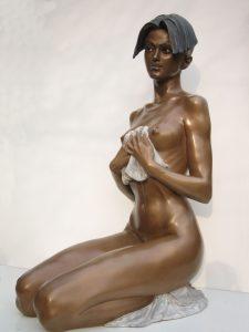 Bronze-statues-of-women-sculptures-artistic-female-nudes-code-72-a-Monika-cm68x42x25-year-1998