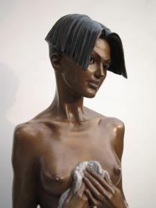 Bronze-statues-of-women-sculptures-artistic-female-nudes-code-72-b-Monika-cm68x42x25-year-1998