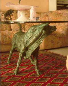 Bronze-table-base-in-the-shape-of-bull-Toro-Tavolo-code-61-a-cm64x100x62-year-1996
