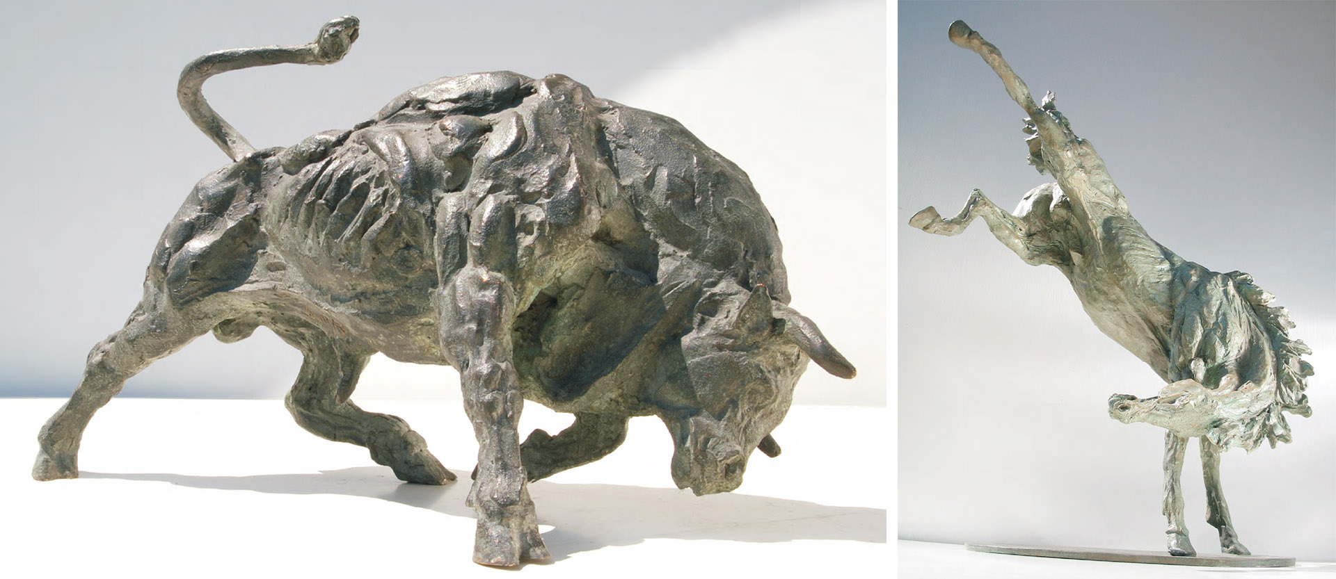 statues-of-animals-sculptures-horses-bulls-in-bronze-cover01