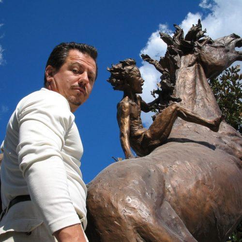 horse bronze statue monuments in bronze sculptures for the garden